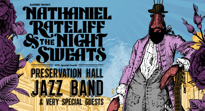 Nathaniel Rateliff and The Night Sweats at Virginia Credit Union LIVE!
