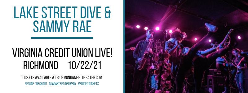 Lake Street Dive & Sammy Rae at Virginia Credit Union LIVE!